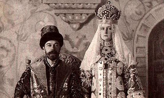 Император Николай II и императрица Александра Фёдоровна. Костюмированный бал 1903 года.