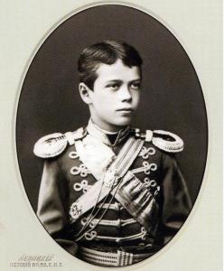 Цесаревич Николай Александрович.1879 год.