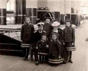 Фото императорской семьи 1907 г.