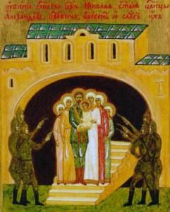 Икона новых святых Российских мучеников и исповедников, пострадавших за Христа в трагическом ХХ веке