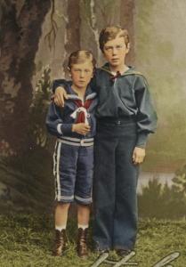 Великие Князья Николай и Георгий Александровичи