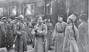 Николай 2 на фронте