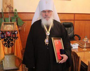Митрополит Владивостокский и Приморский Вениамин